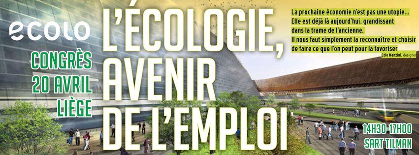 L'écologie, avenir de l'emploi !