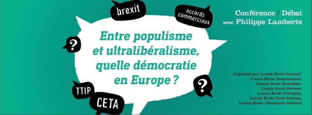 Quelles nouvelles formes de démocratie en Europe ?