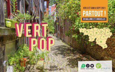 Vert Pop à Huy-Waremme le vendredi 3 & samedi 4 septembre : demandez le programme !